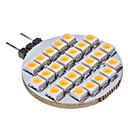 hesapli LED Bi-pin Işıklar-SENCART 3000lm G4 LED Bi-pin Işıklar 25 LED Boncuklar Sıcak Beyaz 12V