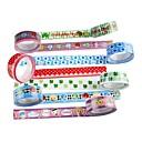 baratos Suprimentos para Scrapbook-fita adesiva elegante (conjunto de 4 cores aleatórias) para escola / escritório