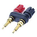 ieftine Audio & Video-Banana Plug obligatorii post de sudare placat cu aur Black & Red pentru Home Theater