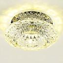 baratos Luminárias de LED-LightMyself™ Montagem do Fluxo Luz Descendente - Cristal, Estilo Mini, LED, 110-120V / 220-240V, Branco Quente / Branco Frio / 20-30㎡ / Led Integrado