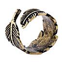 baratos Anéis-Mulheres Anel de declaração - Cobre, Liga Pena, Bala Fashion Ajustável Bronze Para Casamento Festa Diário / Multi-Pedras