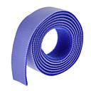 Χαμηλού Κόστους Οργάνωση καλωδίων-μαγική ταινία μπλε 100m * 20mm για τη διαχείριση του καλωδίου