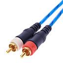 hesapli Ses ve Video Kabloları-erkek video kablosu kompozit erkek rca jsj® 1.5m 4.92ft 2 - mavi
