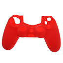 hesapli PS4 Aksesuarları-Dik Yaka / Oyun Kontrolörü Kasa Koruyucu Uyumluluk PS4 ,  Dik Yaka / Oyun Kontrolörü Kasa Koruyucu Silikon 1 pcs birim