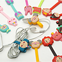 cheap Drawing & Writing Instruments-Cartoon Buckle Type Rubber Bobbin Winder(3PCS Different Style but Random Color)