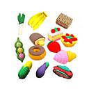 preiswerte Zubehör zum Zeichnen und Schreiben-spezielles Design Fastfood geformter Radiergummisatz (4 Stück) für Schule / Büro