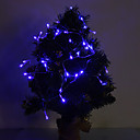 hesapli LED Şerit Işıklar-4m Dizili Işıklar 40 LED'ler Dip Led Mavi Parti / Dekorotif / Sevimli AA Bataryalar Powered 1set / IP44