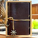 ieftine Caiete & Bilete Lipicioase-jurnal de călătorie jurnal vintage pirat jurnal notebook jurnal 80page hârtie kraft maro