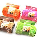 preiswerte Hundehalsbänder, Geschirre & Leinen-Hund Tuch Reinigung Haustiere Matten & Polster Weich Orange Kaffee Grün Rosa Für Haustiere