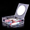 hesapli Saklama ve Organizasyon-ayna kozmetik düzenleyicisi ile akrilik şeffaf uydurmak 1x2 kozmetik saklama kutusu