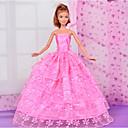 رخيصةأون أغطية أيفون-دمية اللباس حفلة / سهرة إلى Barbie البوليستر فستان إلى لفتاة دمية لعبة