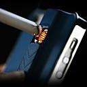 preiswerte iPhone Hüllen-Special Design Reinheit Metall Muster mit Feuerzeug-Funktion zurück Fall für iPhone 5/5S (Farbe sortiert)