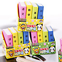 cheap Drawing & Writing Instruments-Special Design Book Shaped Eraser(4 PCS) For School / Office