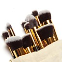 cheap Makeup & Nail Care-10pcs Makeup Brushes Professional Makeup Brush Set / Blush Brush / Eyeshadow Brush Nylon / Nylon Brush Portable / Travel / Eco-friendly