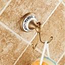 ieftine Becuri De Mașină LED-Agățătoare Capot Calitate superioară Antichizat Alamă Lemn 1 piesă - Hotel baie