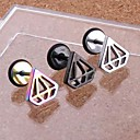 cheap Earrings-Men's Stud Earrings - Stainless Steel For Wedding Party Daily