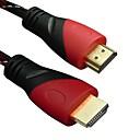 hesapli Bileklikler-1080p 3d hdtv ps3 xbox bluray dvd LWM ™ primi yüksek hızlı HDMI kablosu 15ft 5m erkek v1.4