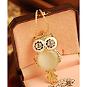 cheap Necklaces-Women's Pendant Necklace - Owl, Snowflake Fashion Screen Color Necklace Jewelry For Special Occasion, Birthday, Gift