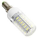 hesapli LED Mısır Işıklar-420 lm E14 LED Mısır Işıklar 42 led SMD 5730 Serin Beyaz AC 220-240V