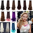 cheap Fitness Accessories-18 inch Medium Hair Extension Curly Classic Daily High Quality Ponytails