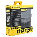 abordables Leurres & Mouches de Pêche-Nitecore I4 Chargeurs Chargement Rapide pour Lithium-ion / Nickel Metal Hydride / Nickel Cadmium 26650, 22650, 18650, 17670, 18490,