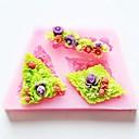 preiswerte Backzubehör & Geräte-Blume Back Fondantkuchen Schokolade Süßigkeiten Schimmel, l8.7cm * w5.2cm * h1.1cm