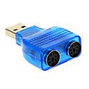 hesapli USB Kabloları-ps / 2 adaptöre usb 2.0 erkek