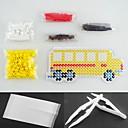رخيصةأون أدوات & أجهزة المطبخ-حبات حماة الأصفر 5MM حافلة حبات perler عدة فتيل ديي (حبات اللون مناسبة تعيين + 1 + 1 pegboard الكي ورقة + 1 منتاش)