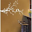 hesapli Ev Dekorasyonu-Manzara Natürmort Romantizm Moda Botanik Duvar Etiketler Uçak Duvar Çıkartmaları Dekoratif Duvar Çıkartmaları, PVC Ev dekorasyonu Duvar
