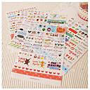 baratos Suprimentos para Scrapbook-1 Plástico Escritório / Carreira Adesivos