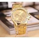 preiswerte Damenuhren-Damen Armbanduhr Chinesisch Armbanduhren für den Alltag / Cool Legierung Band Charme / Freizeit Gold