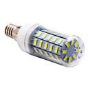 ieftine Becuri LED Corn-3.5W 250-300lm E14 Becuri LED Corn T 48 LED-uri de margele SMD 5730 Alb Natural 220-240V
