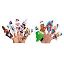 hesapli Santa Suits-Parmak Kuklalar Yenilikçi Tekstil Genç Kız Hediye 10pcs