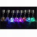 Χαμηλού Κόστους Γυναικεία ρολόγια-Γυναικεία Κουμπωτά Σκουλαρίκια - Επιμεταλλωμένο με Πλατίνα LED Μπλε / Ροζ / 7-Χρωμάτων LED Για Γάμου / Πάρτι / Καθημερινά
