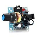 Χαμηλού Κόστους Αξεσουάρ-386 μονάδα μίνι ενισχυτή ήχου για arduino-ανοιχτό μπλε (5 ~ 12v)