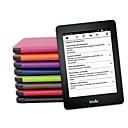 Недорогие Кейсы для планшетов-Кейс для Назначение Kindle / Amazon Полноразмерные чехлы Чехол Новинки Твердый Кожа PU для