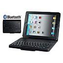 hesapli iPad Klavyeleri-Dahili bluetooth klavye ipad için 2/3/4 (çeşitli renklerde) ile suni deri kapak kılıf