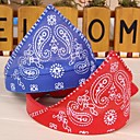 cheap Dog Clothing & Accessories-Cat Dog Bandanas & Hats Dog Clothes Red Blue Pink PU Leather Cotton Costume For Spring &  Fall Cosplay Wedding