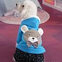 ieftine Imbracaminte & Accesorii Căței-Câine Hanorace cu Glugă Îmbrăcăminte Câini Bumbac Costume Pentru Iarnă Cosplay