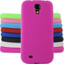 cheap Tablet Cases-Case For Samsung Galaxy Samsung Galaxy Case Shockproof Back Cover Solid Colored Silicone for S4