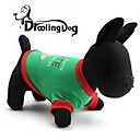 preiswerte Bekleidung & Accessoires für Hunde-schönes Plätzchen-Muster aus 100% Baumwolle T-Shirt für Hunde (verschiedene Größen)