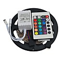 cheap LED Strip Lights-JIAWEN 5m Flexible LED Light Strips 300 LEDs 3528 SMD RGB 12 V Remote-Control DC 12 V IP44