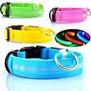 preiswerte Hundehalsbänder, Geschirre & Leinen-verstellbar geführt Leuchthalsband für Hunde (verschiedenen Farben und Größen)