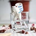 Недорогие Чехлы и кейсы для Galaxy S-neje самостоятельно полива животной горшки - полярный медведь с чашкой