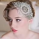 hesapli Saç Taçları-crystyals muhteşem Rhinestones düğün / parti başlık parçaları / alin takı
