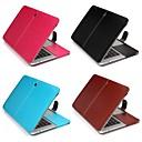 hesapli Köpek Giyim ve Aksesuarları-MacBook Kılıf Solid PU Deri için MacBook Air 13-inç