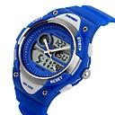 preiswerte Backzubehör & Geräte-SKMEI Armbanduhr Armbanduhren für den Alltag Silikon Band Charme / Freizeit / Zeichentrick Schwarz / Blau / Rosa / Zwei jahr / Maxell626 + 2025