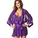 ieftine Costume Sexy-Pentru femei Uniforme Uniforme sexy Pijamale Sex Costume Cosplay Geacă Rochie