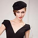 hesapli Saç Takıları-Yün Kristal Kumaş - Tiaras Şapkalar 1 Düğün Parti / Gece Başlık