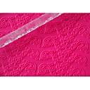 hesapli Fırın Araçları ve Gereçleri-Şeker tasarım renk şeffaf, 1pcs için dört-c çerez araçları kabartma oklava